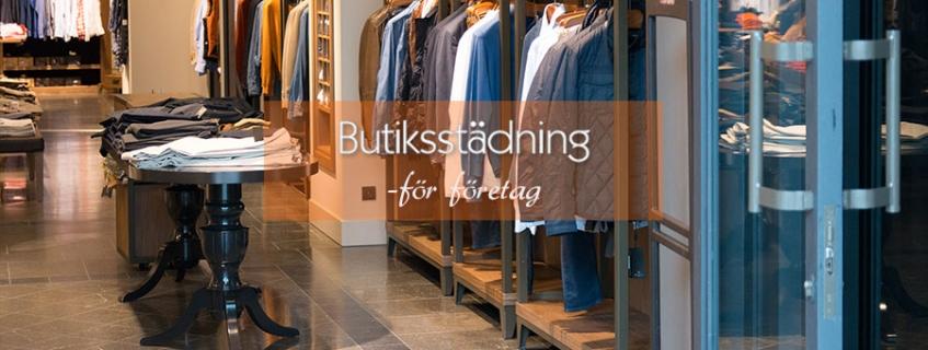 Städning för alla typer av butiker